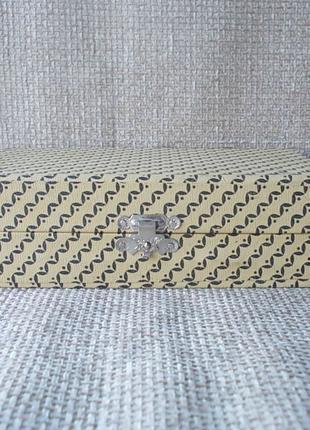 №371 Футляр коробка для 6 серебряных чайных ложек СССР
