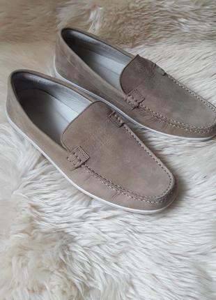 Кожаные туфли lacoste 42 размер