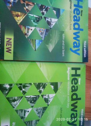 продам книги Headway Beginner