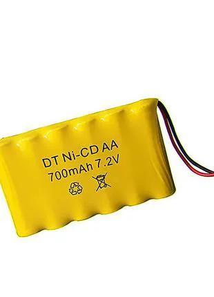 Ni-CD AA 7.2V 700mAh Ni-CD 7.2V Аккумулятор SM-2P