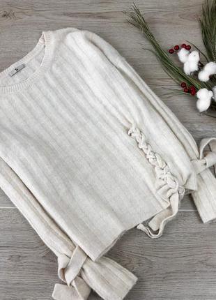 Невероятный свитер с завязками tu