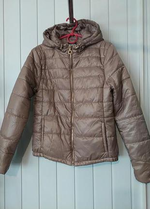 Супер женская брендовая демисезонная весенняя стеганная  куртка