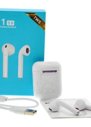 Беспроводные наушники HBQ i-11-TWS Bluetooth 5.0 Белый