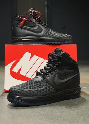 Кроссовки натуральная кожа Nike Lunar Force 1
