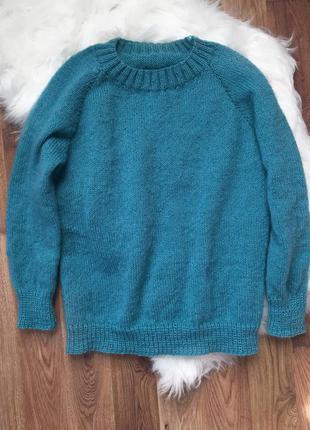 Вязаный свитер, ручная работа, кофта, джемпер, пуловер