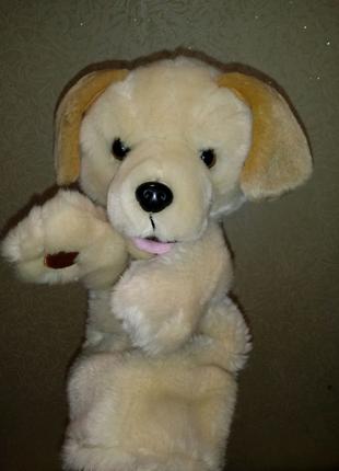 Собака мягкая игрушка на руку Puppet Co. кукольный театр