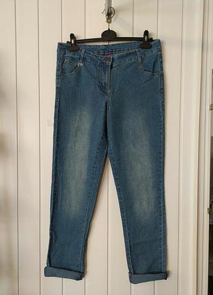Женские джинсы с высокой посадкой blue motion