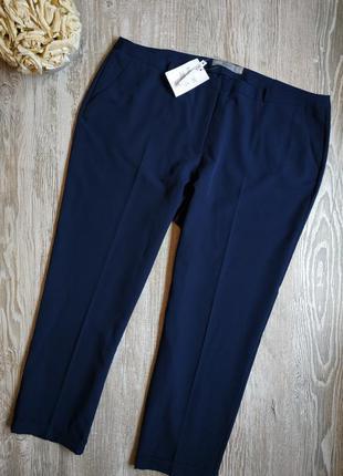 Зауженные укороченные брюки asos размер 18