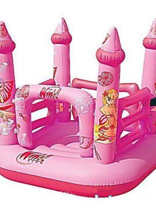 Детский надувной батут BestWay  Замок Винкс