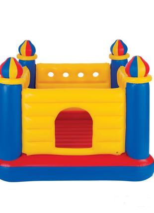 Детский надувной батут Intex  Замок