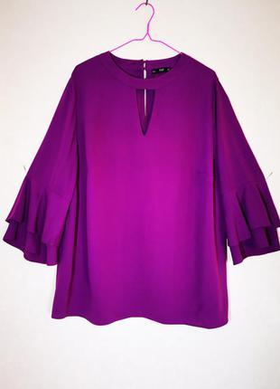 Красивая блуза батал f&f