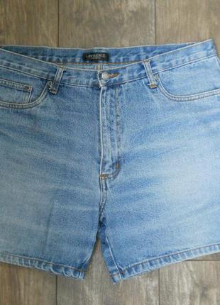 Шорты джинсовые мужские w38 наш 54 размер