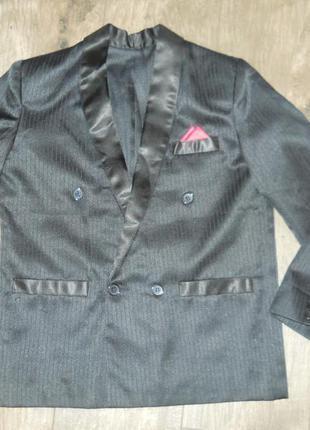 Пиджак школьный мальчику 9-10 лет великобритания