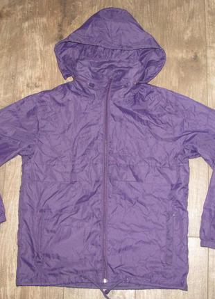 Куртка ветровка р.140 см  дождевик panther для девочки 9-10-11...