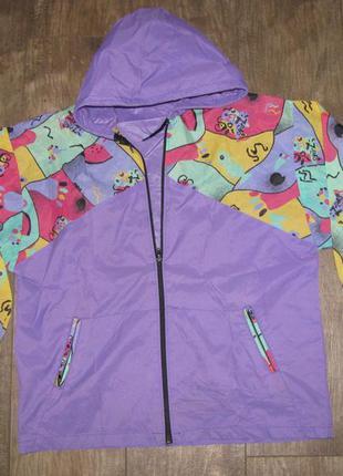 Куртка дождевик ветровка р.152 см panther для девочки 11-12 лет