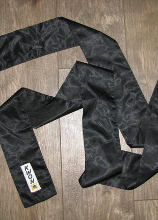 Черный пояс для тхеквондо kwon 300 10 см для единоборств