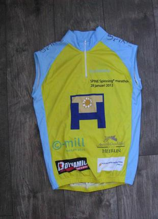 Веломайка р. s мужская спортивная велоодежда майка футболка ве...