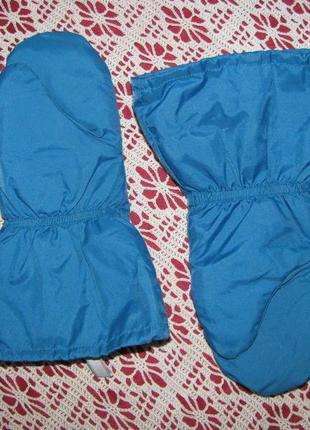 Перчатки варежки 7-8 лет рукавицы краги детские