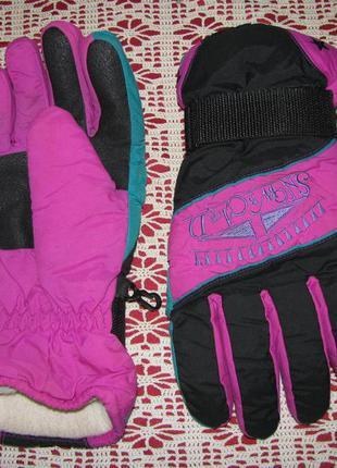 Перчатки  теплые 10 размер l лыжные thinsulate