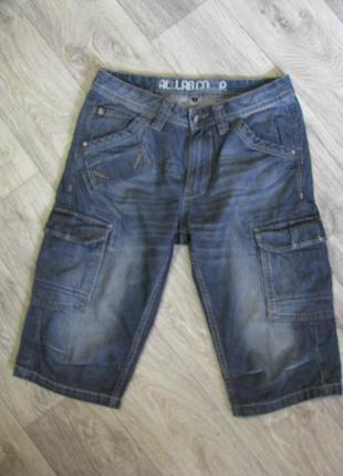 Шорты мужские джинсовые 46 размер s-m