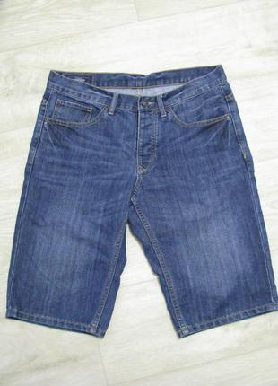 Шорты мужские джинсовые 48 размер m  w32