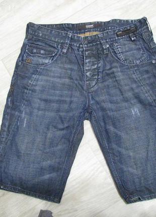 Шорты мужские джинсовые 48 размер m