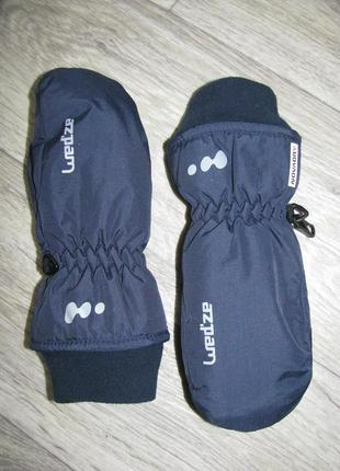 Рукавицы краги 7-8 лет перчатки wedze франция рост 128 см варежки