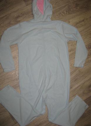 Кигуруми l-xl единорог ,пижама, слипер