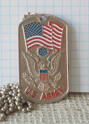 №377 Нагрудный жетон медальон солдат американской армии США US