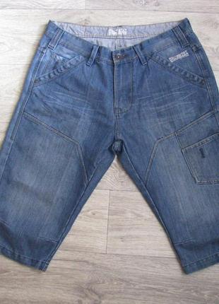 Шорты мужские джинсовые m размер