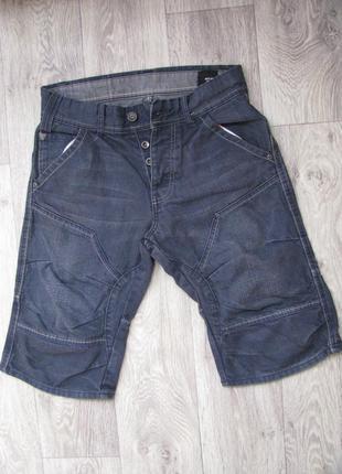 Шорты мужские джинсовые 46 размер s jack & jones бриджи