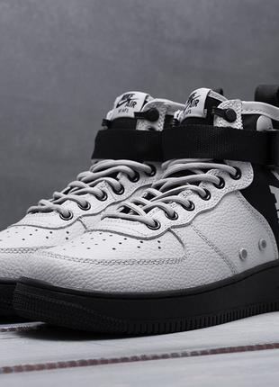 Nike SF Air Force 1 Mid (серые)