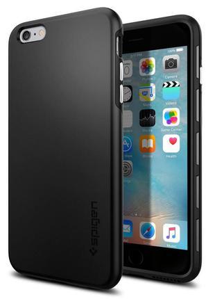 Чехол для iphone 6 6s plus spigen thin fit hybrid с магнитным ...