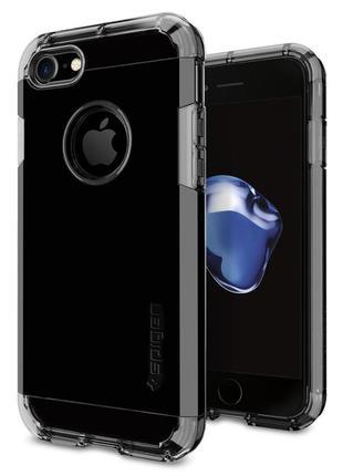 Оригинальный  чехол spigen tough armor jet black для  iphone 7 8