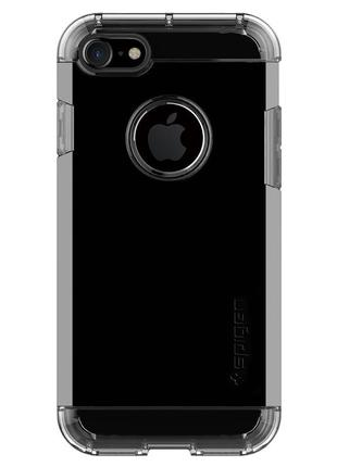 Чехол противоударный spigen tough armor jet black для iphone 7 8
