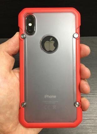 Крутейший чехол supcase противоударный для iphone x xs