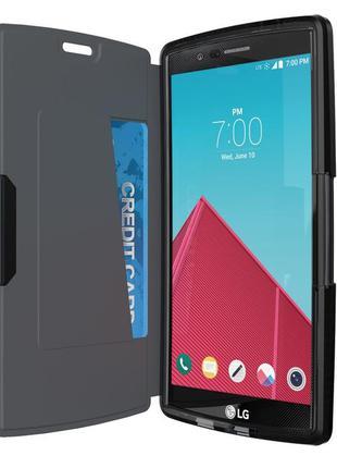 Флип чехол книжка tech21 evo wallet lg g4 новый в упаковке