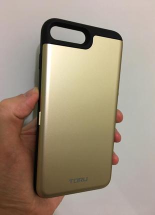 Стильный чехол  с зеркалом для iphone 7 8 plus