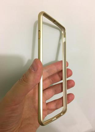 Стильный чехол рамка аллюминиевый для iphone 6 6s plus