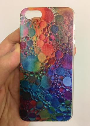 Стильный защитный чехол  для iphone 5 5s se