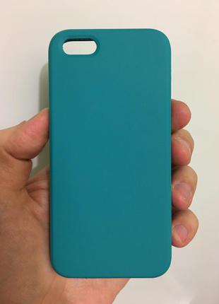 Стильный силиконовый чехол для iphone 5 5s se