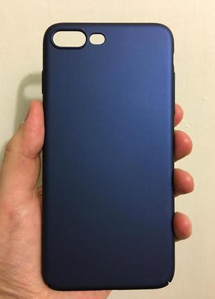 Тонкий стильный чехол для iphone 7 8 plus