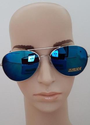 Очки солнцезащитные авиатор pipel  защита от ультрафиолета uv ...