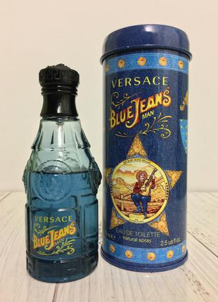 Blue jeans versace вода туалетная для мужчин 1994 духи мужские
