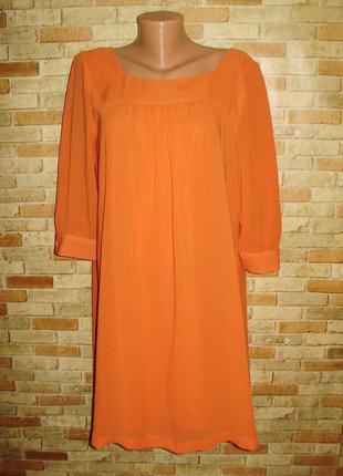 Новое шифоновое платье свободного кроя 48-50 размера