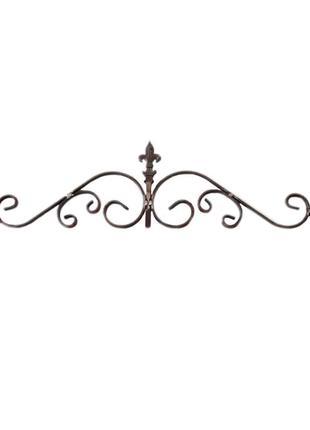 Верхушка кованая металлическая