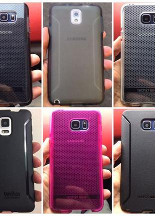 Чехол Tech21 для Samsung Note 3 4 5 S5 S7 S8 S6 LG G5 G6 G7 V3...