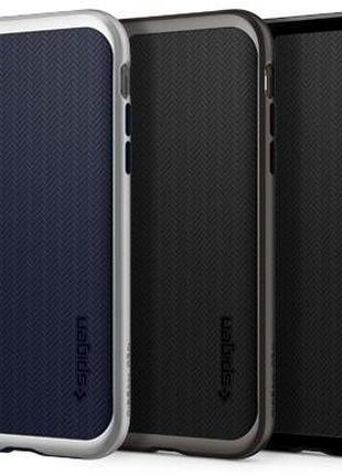 Чехол для iPhone X XS XR 7 8 8+ Plus Spigen Ultra Hybrid S Cry...