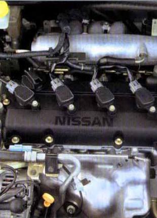 Двигатель Nissan X-Trail (T30), 2006, 2.0L бенз., 4*4 (QR20DE)