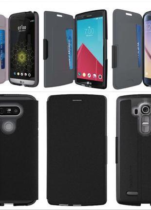 Флип чехол книжка Tech21 для Ihone 7 8 6 Samsung note 8 5 S7 L...